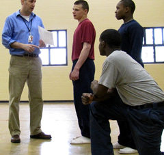 Picture of Matt Wallace teaching