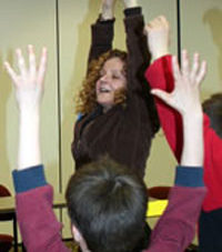 Picture of Christine Kuhn teaching